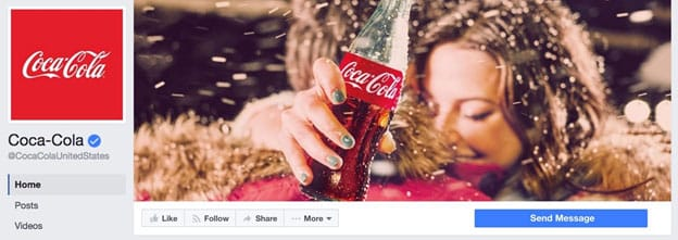 CocaCola on Facebook
