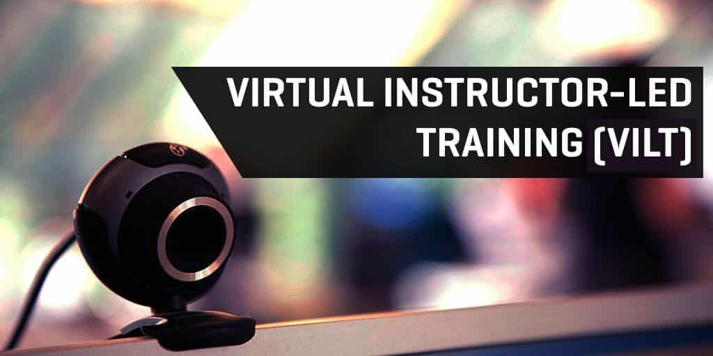 Virtual Instructor-Led Training