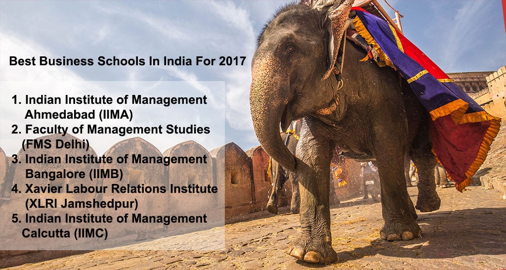 5 Indian Business Schools Make List Of Top 100 In The World 2017