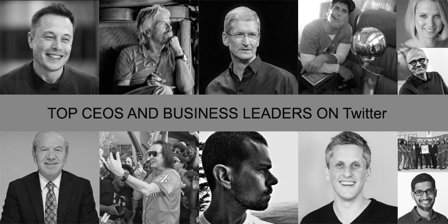 Top CEOs And Business Leaders On Twitter: You Should Be Following