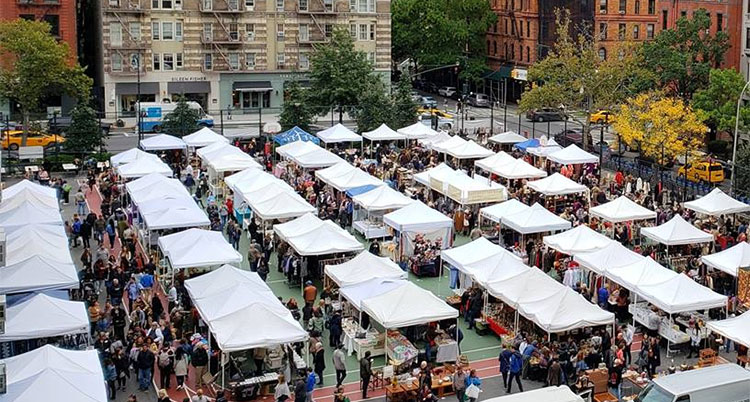 Resultado de imagen de STREET MARKETS NEW YORK CITY