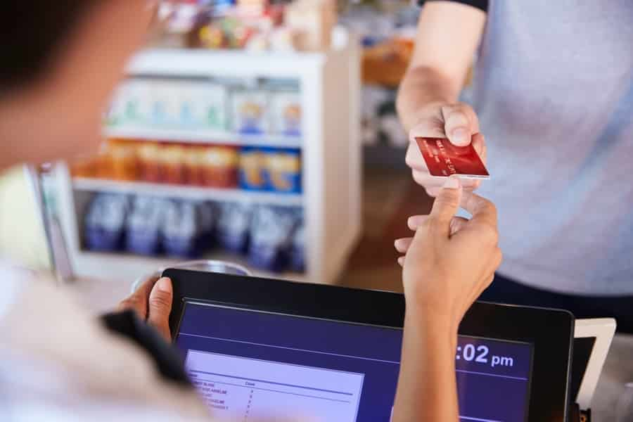 Cashier Credit Card Payment