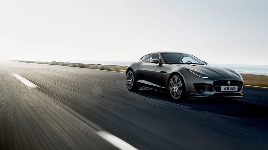Jaguar F-TYPE - Luxury Sports Car