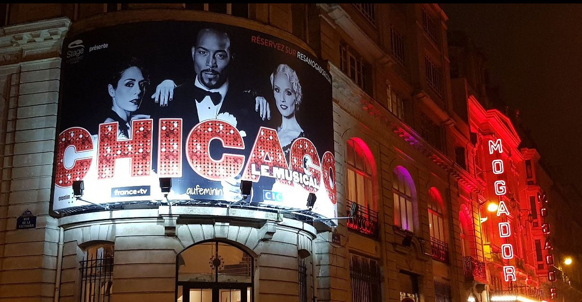 Theatre de Mogador Paris France