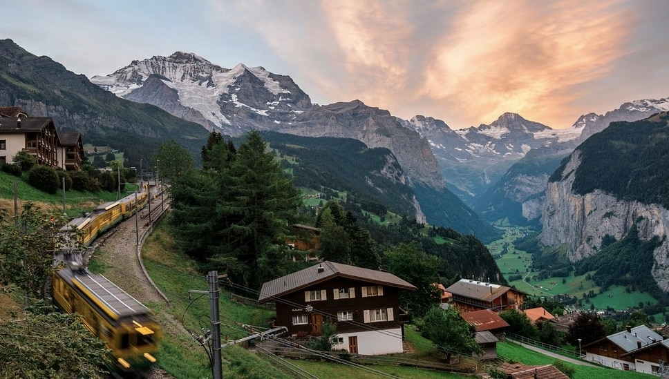 Wengen Switzerland.'