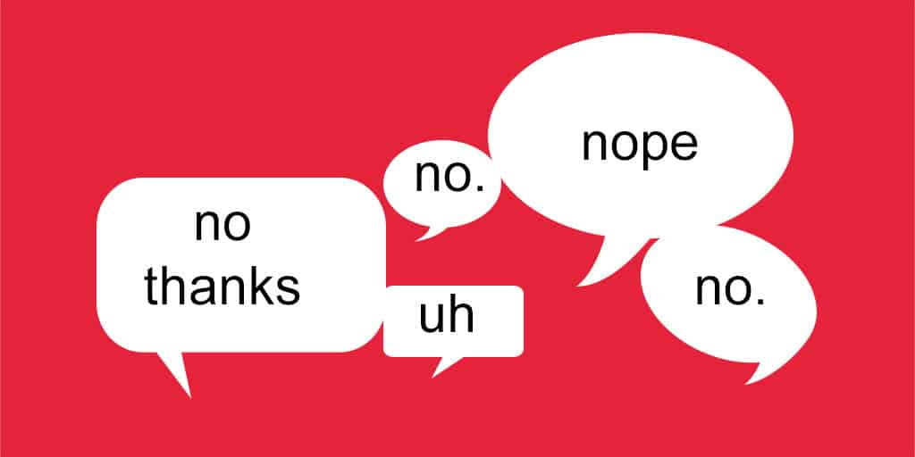 When to Say No in Business