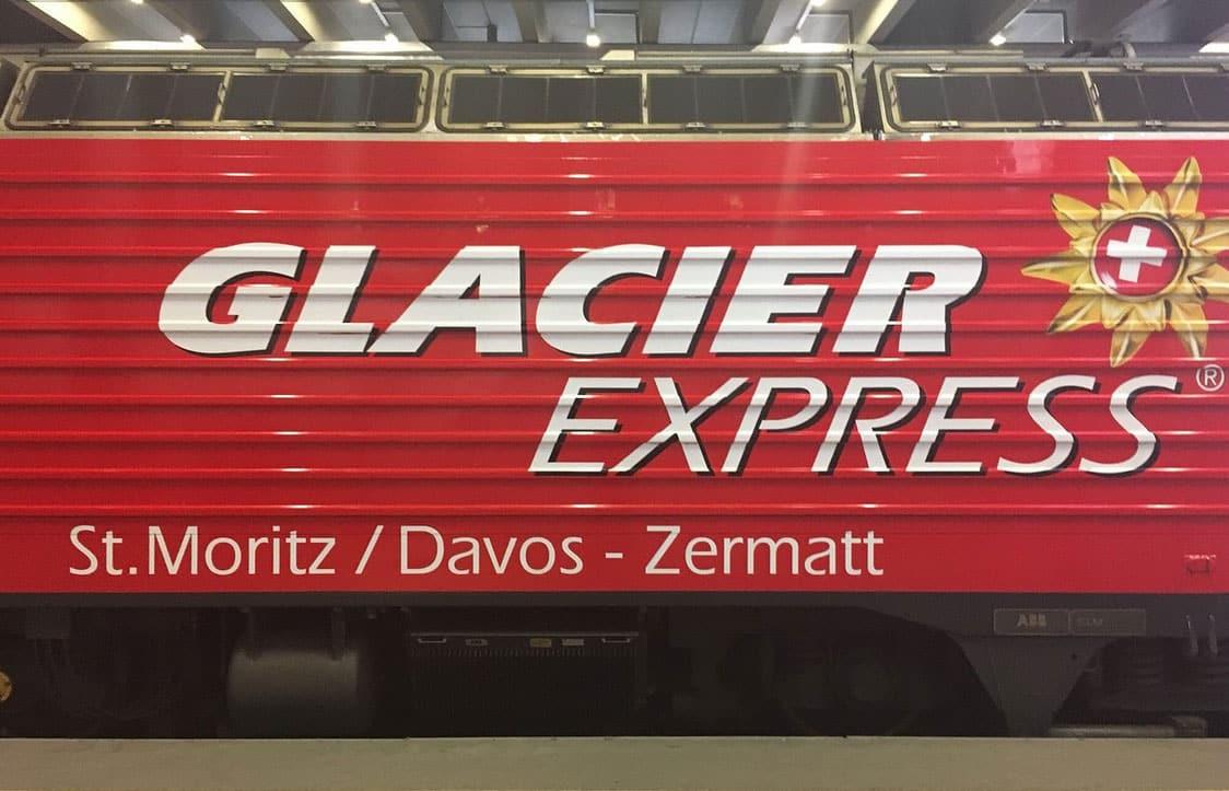 Glacier Express Zermatt, Switzerland