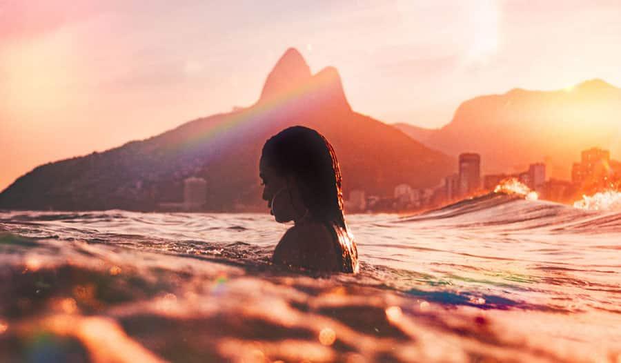 Ipanema Beach, Rio Di Janeiro, Brazil