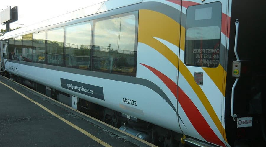 TranzAlpine Train (Christchurch) New Zealand