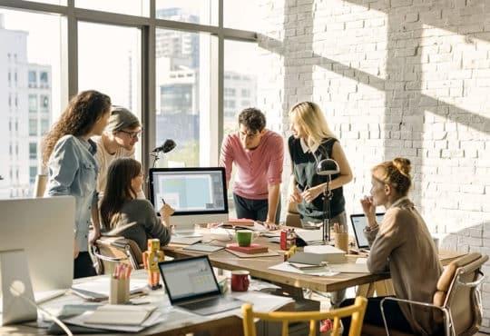Millennials Brainstorming