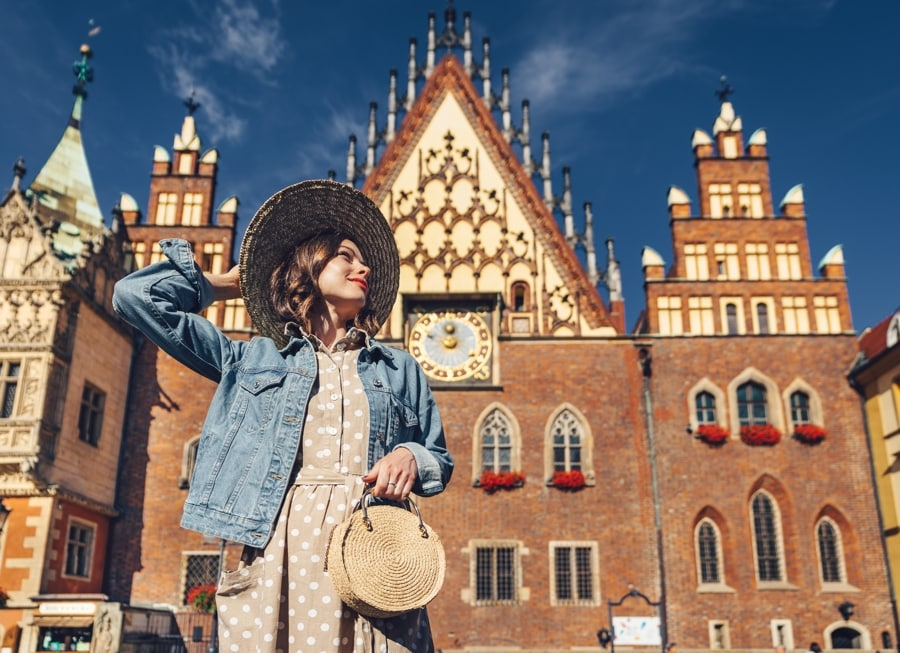 Solo Traveler, Wroclaw, Poland