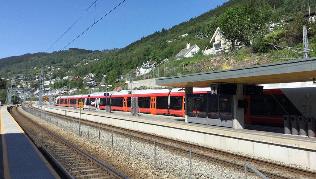 The Bergen Railway (Oslo), Norway