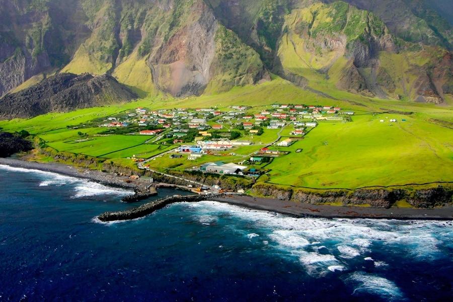 The Island Of Tristan da Cunha