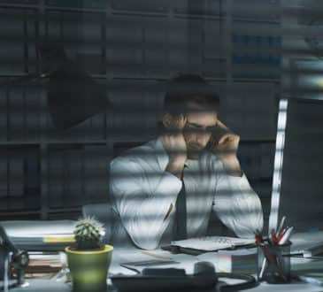 business executive stress