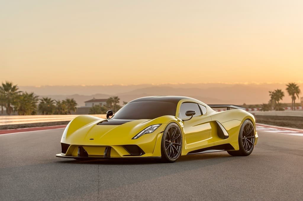 Here Are The Fastest Production Cars You Can Buy Right Now