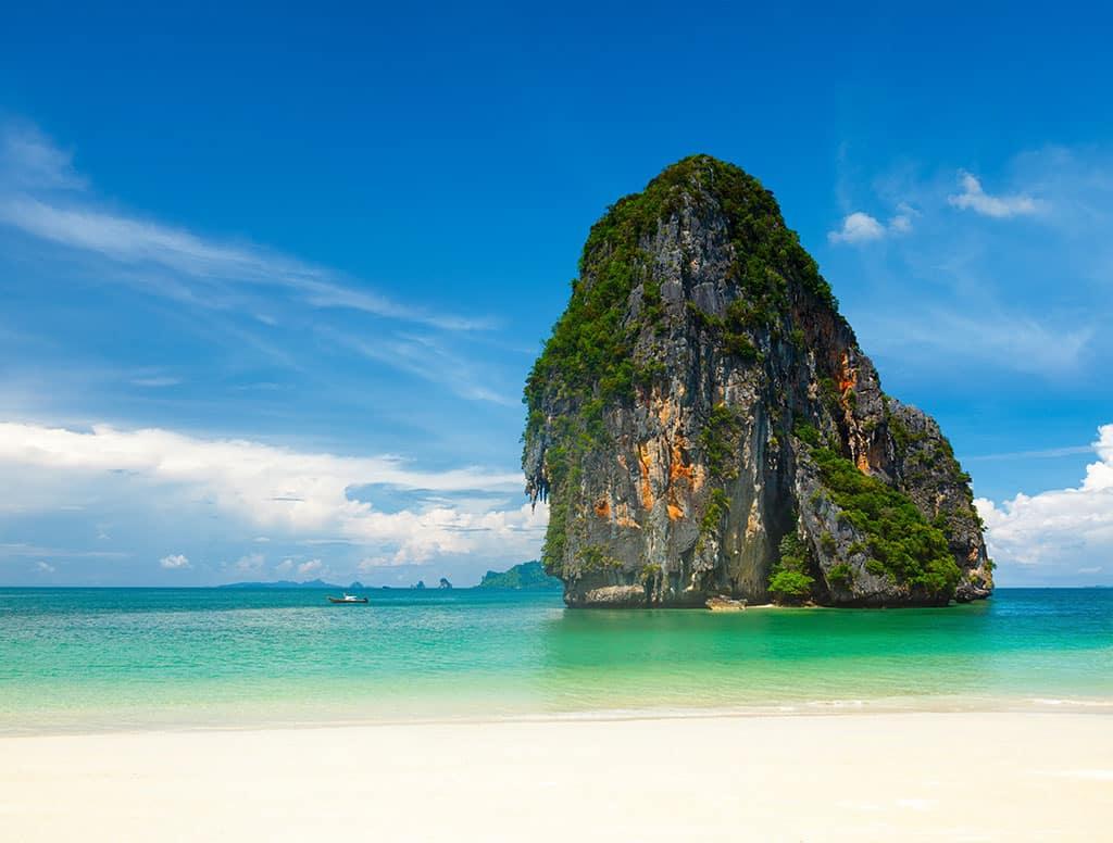 Pranang beach, Krabi, Thailand