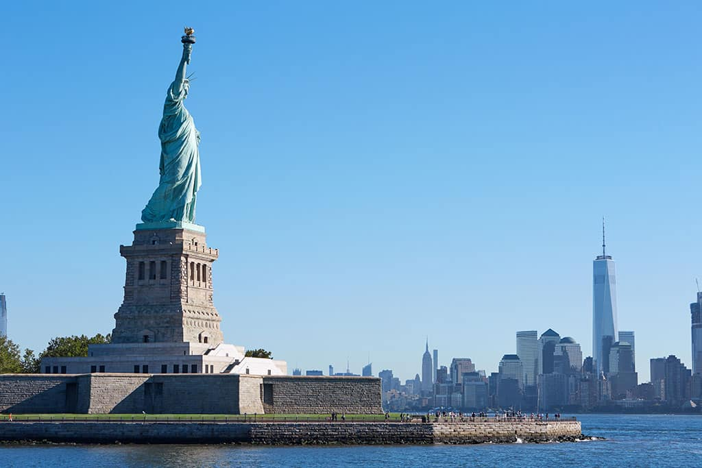 Statue of Liberty, New York, US