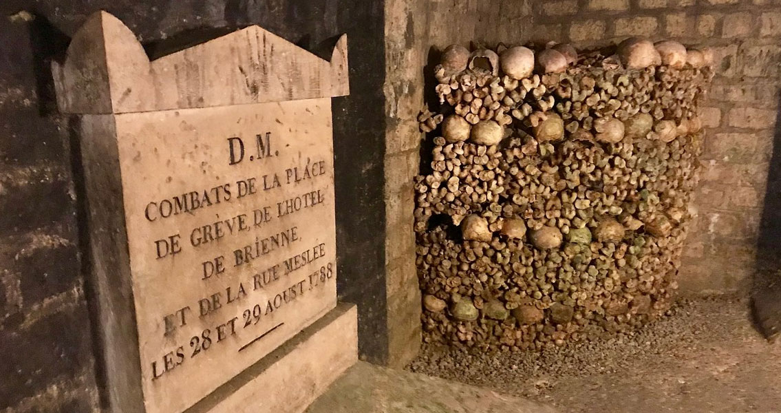 The Paris Catacombs, France