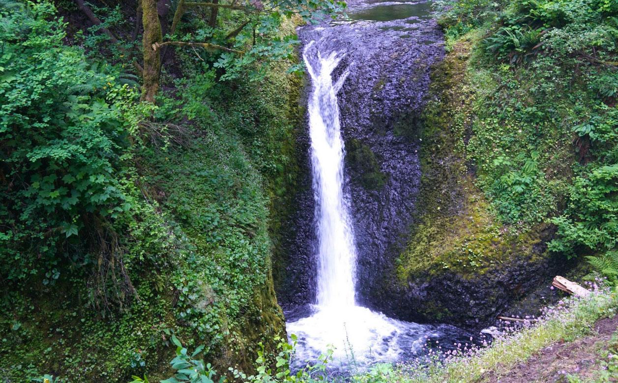 Triple Falls, Western Gorge, Oregon