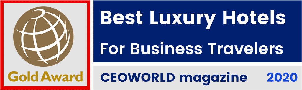 Best Luxury Hotels For Business Travelers by CEOWORLD magazine