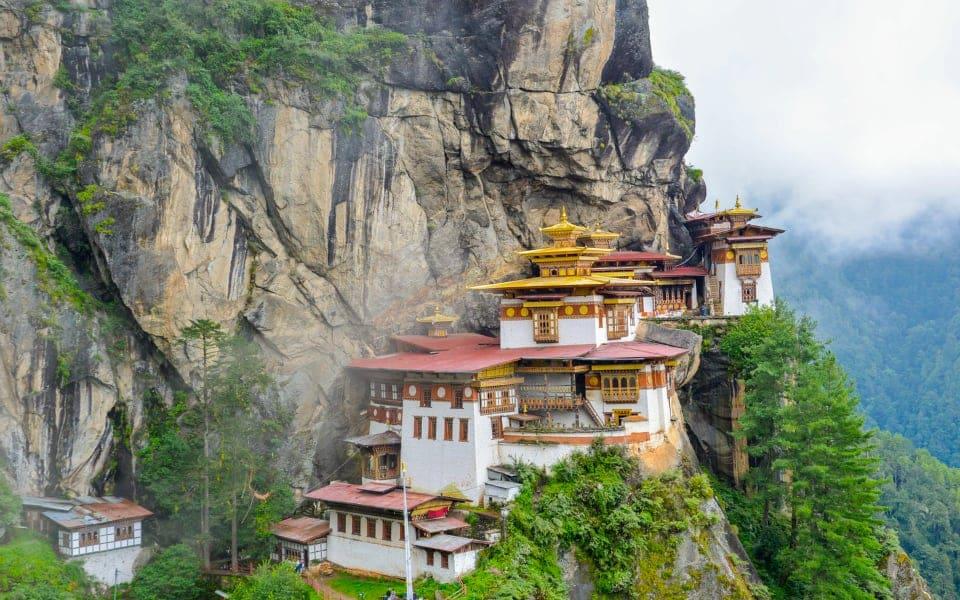 Taktsang or Tiger's Nest, Paro, Bhutan