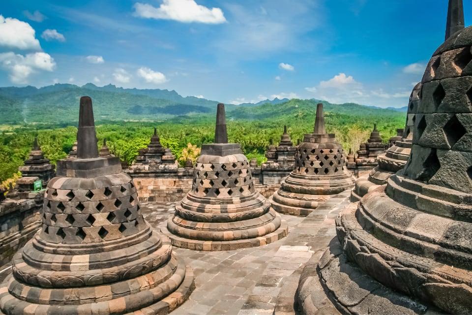 Borobudur Barabudur Java Indonesia