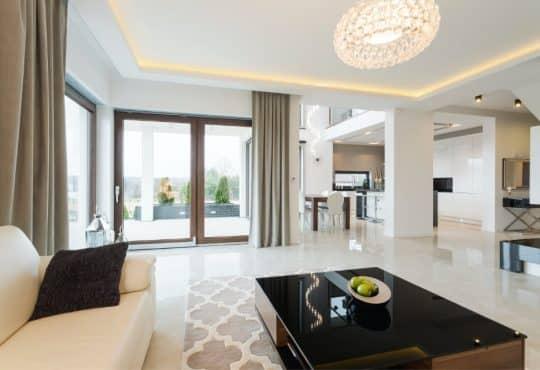 Modern decor of lounge