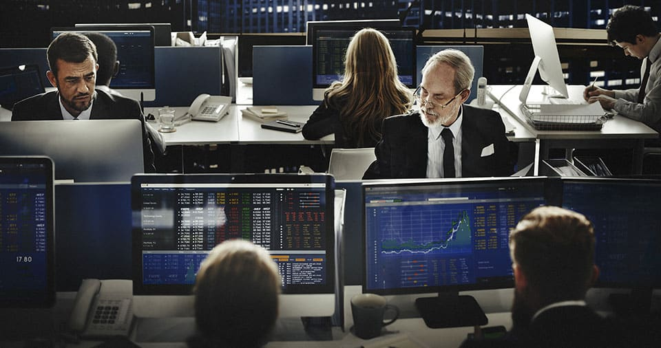 Business Team Investment Trading