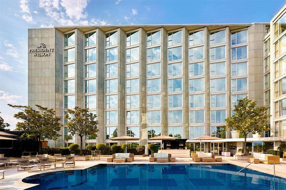 Hotel President Wilson Geneva Switzerland