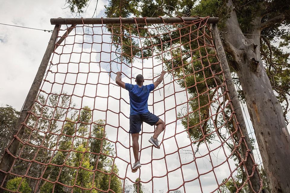 adventurous lifestyle climbing