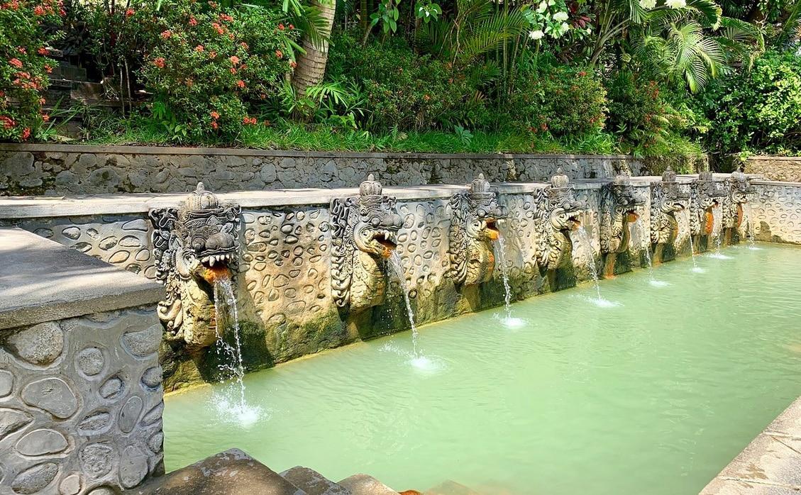 Banjar Hot Springs, Bali, Indonesia