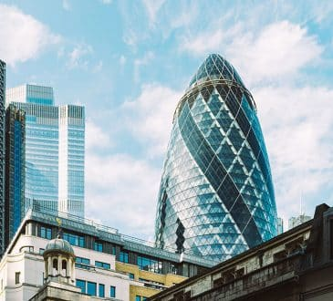 London City's skyscrapers