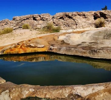 Travertine Hot Spring, California, US