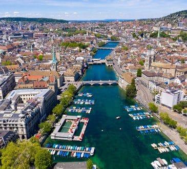 Zurich city in Switzerland