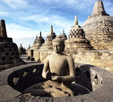 Borobudur Temple Compounds, Indonesia