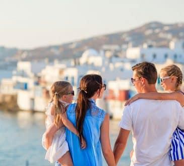 Family vacation Mykonos